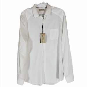 ⚡️HOST PICK ⚡️Burberry white dress shirt NWT